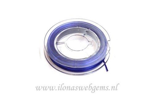 Sterk elastiek donker blauw