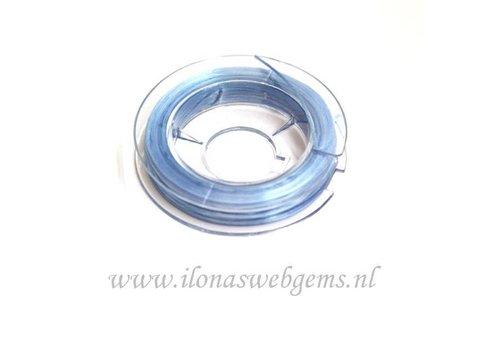 Sterk elastiek licht blauw