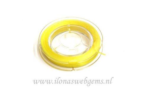 Sterk elastiek geel