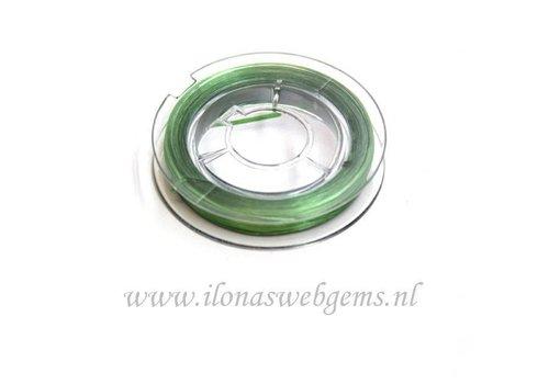 Sterk elastiek groen