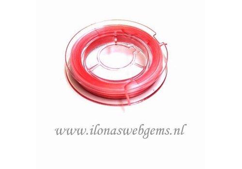 Sterk elastiek roze