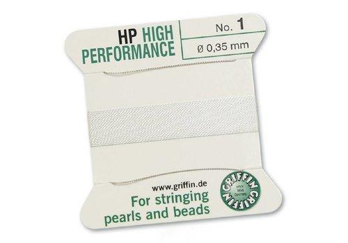 Griffin High Performance 2m 2 needles 1 white 0.35 mm