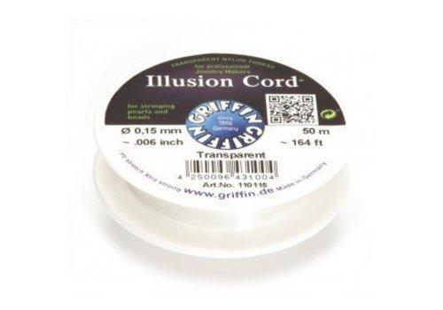 Griffin transparent nylon thread 0.15mm