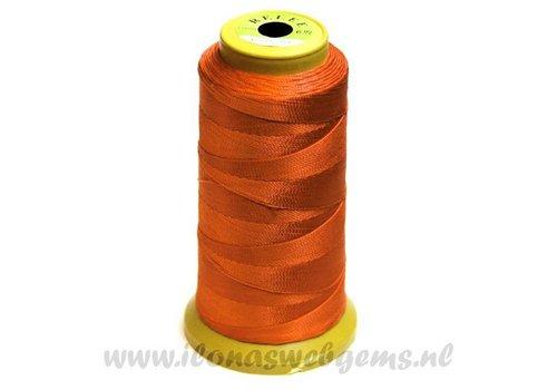 Grote rol rijgdraad oranje