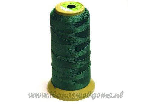 Grote rol rijgdraad donker groen