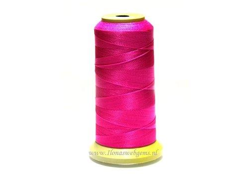 Grote rol rijgdraad roze