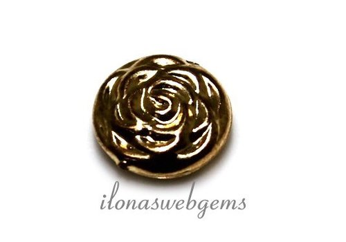 Gold filled bead rose