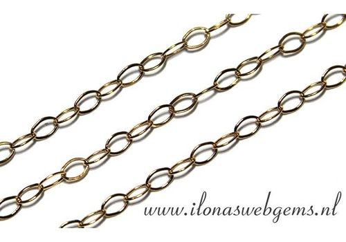 1cm Goldfilled links / necklace approx. 2.2mm