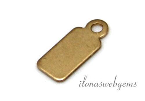 14k / 20 Gold gefülltes Etikett