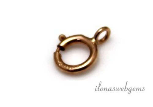 Rosé 14k / 20 Gold filled spring ring
