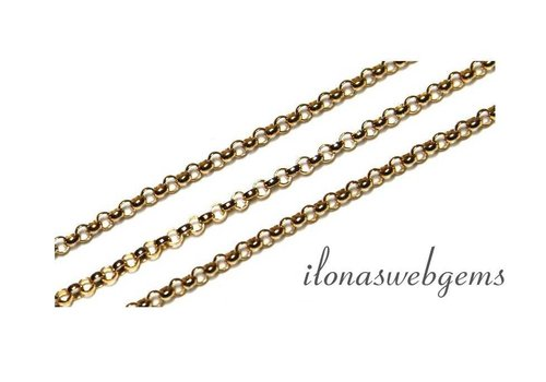 1cm Goldfilled Jasseron links / necklace