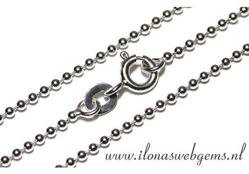 925/000 Silber ball chain/Ketten ca. 1.5mm