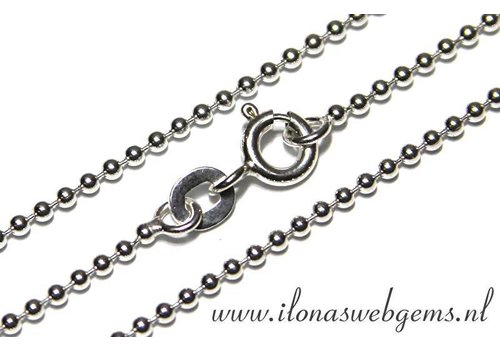 Sterling Silver ball chain/chain