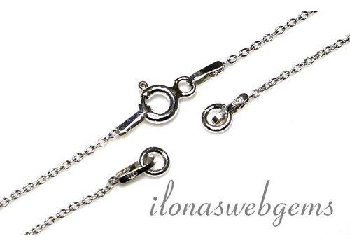 1 sterling zilveren armbandje/enkelbandje (basis)