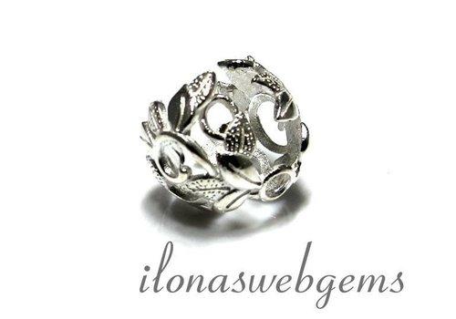 1 925/000 Silber   Perlenkap ca. 14mm