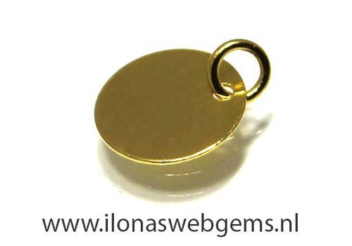 1 Vermeil label around 10 mm
