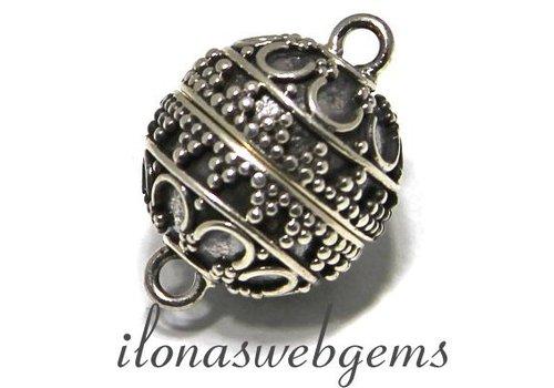 Sterling silver magnet lock around 14mm
