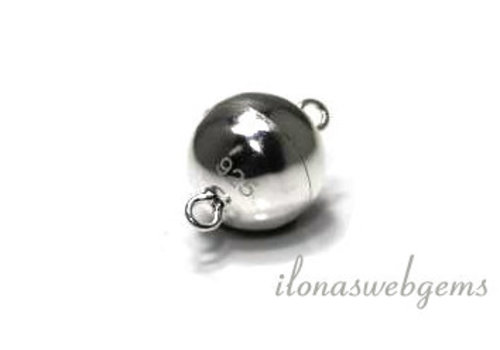 Sterling silver magnetic clasp 8mm