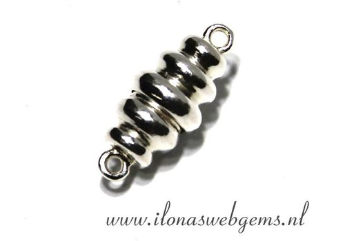 Sterling silver magnetic clasp 20x9mm
