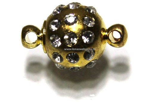 Magnetverschlusse Goldfarbe ca. 16x10mm