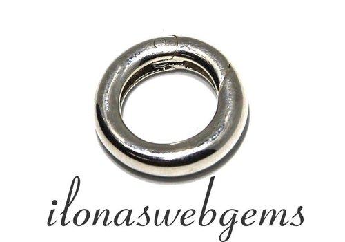 Sterling silver spring lock appr. 15mm