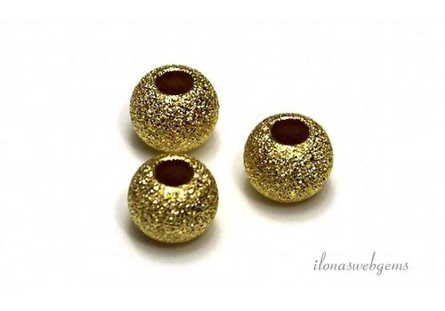 Sternenstaub Vermeil Perle um 6mm