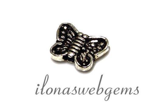 1 sterling Silver Butterfly app. 10x7x2.8mm