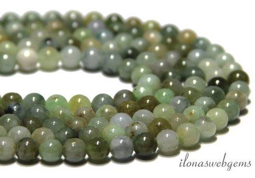 Jade kralen rond ca. 6mm