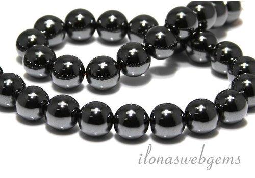 Hemattite beads app. 12mm