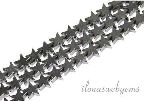 Hemattite beads star app. 8mm