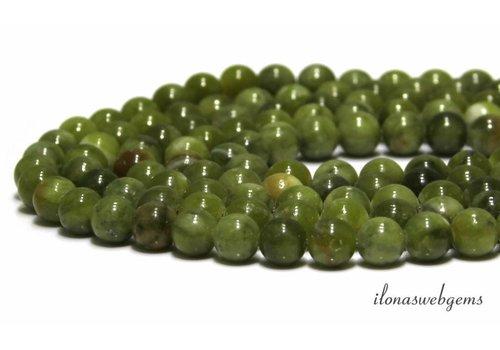 Jade kralen rond ca. 8mm