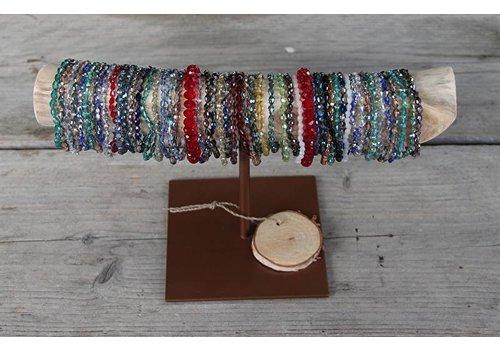 Counter set 1: Swarovski style crystal bracelets