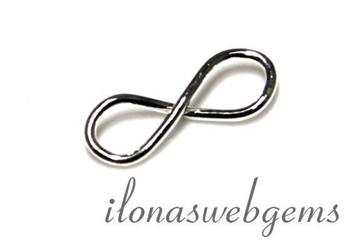 1 Sterling zilveren connector infinity