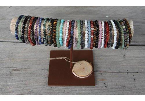 toonbankset 3: 100 stuks edelsteen armbandjes