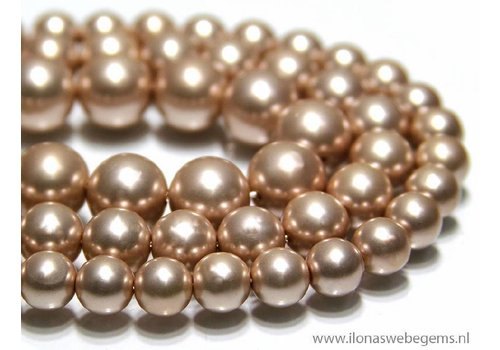 1 piece Shell Pearl round app. 12mm