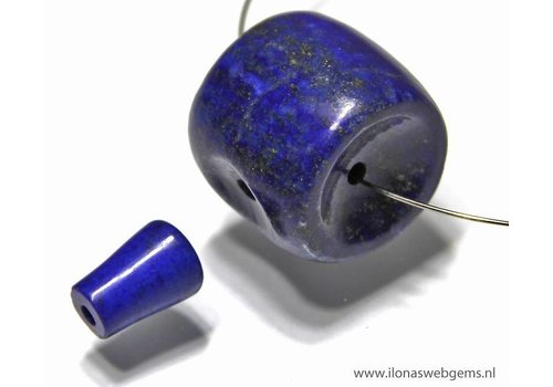 Lapis Lazuli Mala / Guru kralen set 3 gats