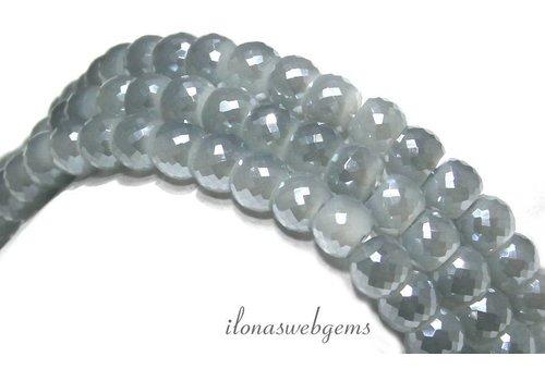 Swarovski style kristal kralen ca. 8x6mm