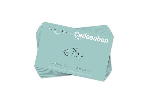 Cadeaubon 75
