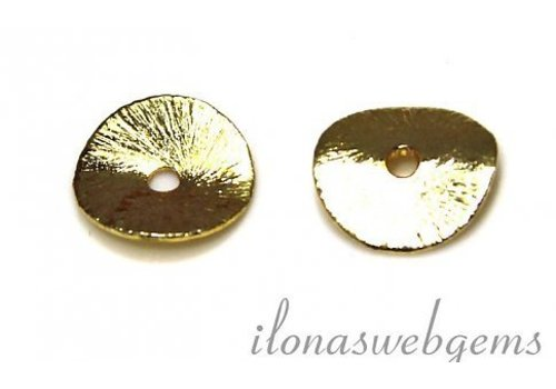 Chips Gold Plated 12 mm
