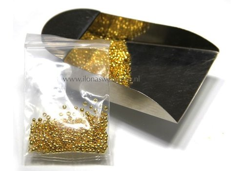 Knijpkraaltjes rond goudkleur
