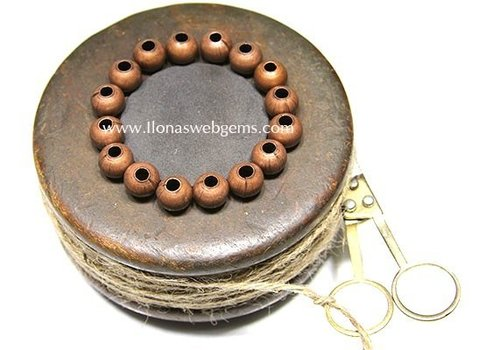 10 pcs bronze bead