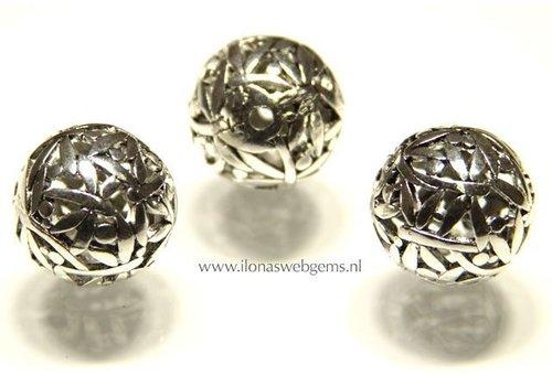 Tinnen  Perle 6 stücke ca. 24mm