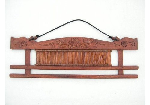Decoratie weefkam uit Thailand