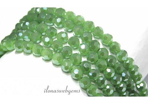 Swarovski style Crystal beads app. 6mm