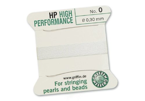 High Performance 2m 2 needles No. 0 0.30 mm