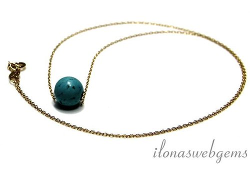 Inspiration 10 krt. fine gold chain