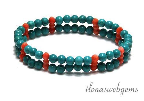 Inspiration Coral bracelet