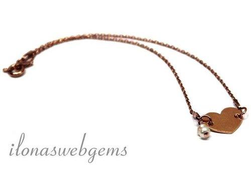Inspiration Rose gold filled bracelet