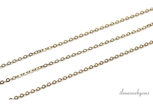 1 cm Gold filled links / chain app. 1.5mm