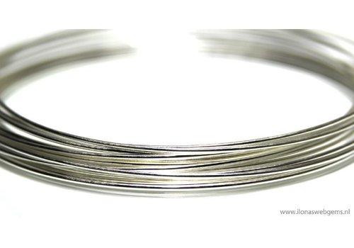 1cm Sterling Silber Draht halbhart 1 mm / 18GA